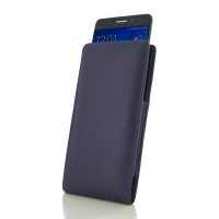 Samsung Galaxy Note 7 Leather Sleeve Pouch Case (Purple) PDair Premium Hadmade Genuine Leather Protective Case Sleeve Wallet