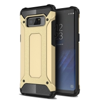 Hybrid Dual Layer Tough Armor Protective Case for Samsung Galaxy Note8 | Samsung Galaxy Note 8 | Samsung AFRICA_EN (Gold)