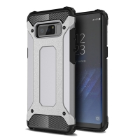 Hybrid Dual Layer Tough Armor Protective Case for Samsung Galaxy Note8 | Samsung Galaxy Note 8 | Samsung AFRICA_EN (Grey)