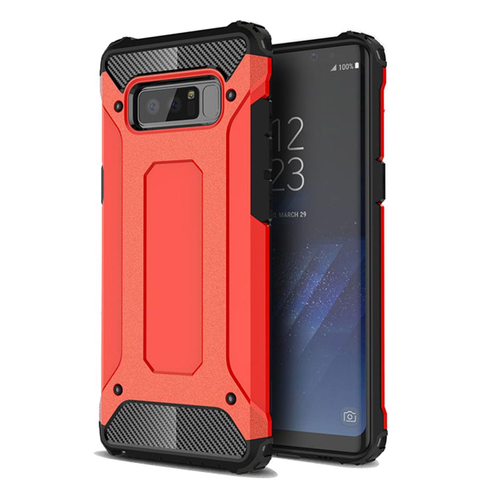 Hybrid Dual Layer Tough Armor Protective Case for Samsung Galaxy Note8 | Samsung Galaxy Note 8 | Samsung AFRICA_EN (Red)