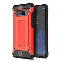 Hybrid Dual Layer Tough Armor Protective Case for Samsung Galaxy Note8 | Samsung Galaxy Note 8 | Samsung AFRICA_EN (Red)