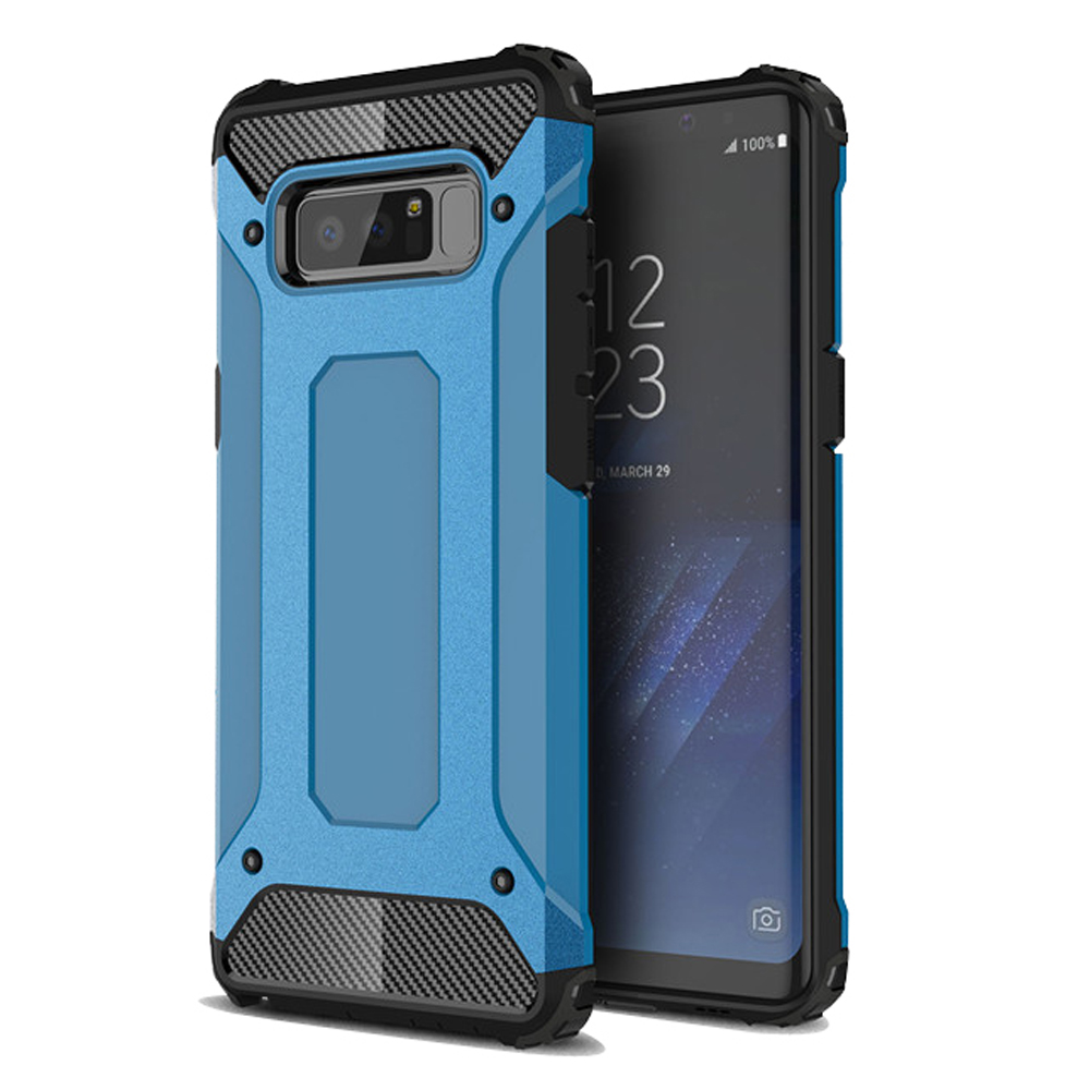 10% OFF + FREE SHIPPING, Buy Best PDair Premium Protective Samsung Galaxy Note8  Hybrid Dual Layer Tough Armor Protective Case (Skyblue).  You also can go to the customizer to create your own stylish leather case if looking for additional colors, patterns
