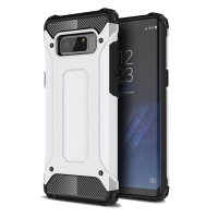 Hybrid Dual Layer Tough Armor Protective Case for Samsung Galaxy Note8 | Samsung Galaxy Note 8 | Samsung AFRICA_EN (White)