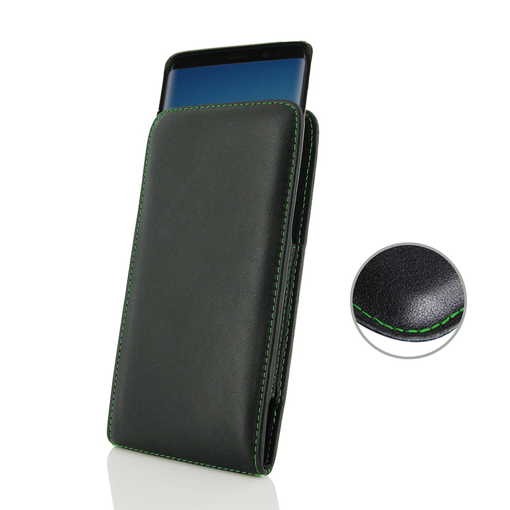 10% OFF + FREE SHIPPING, Buy the BEST PDair Handcrafted Premium Protective Carrying Samsung Galaxy Note 8 (in Slim Cover) Pouch Case (Green Stitch). Exquisitely designed engineered for Samsung Galaxy Note 8.