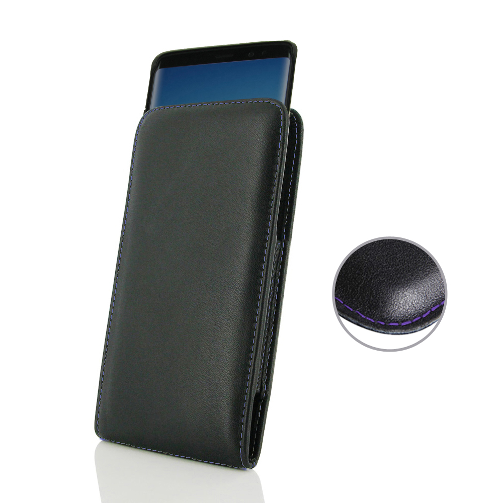 10% OFF + FREE SHIPPING, Buy the BEST PDair Handcrafted Premium Protective Carrying Samsung Galaxy Note 8 (in Slim Cover) Pouch Case (Purple Stitch). Exquisitely designed engineered for Samsung Galaxy Note 8.