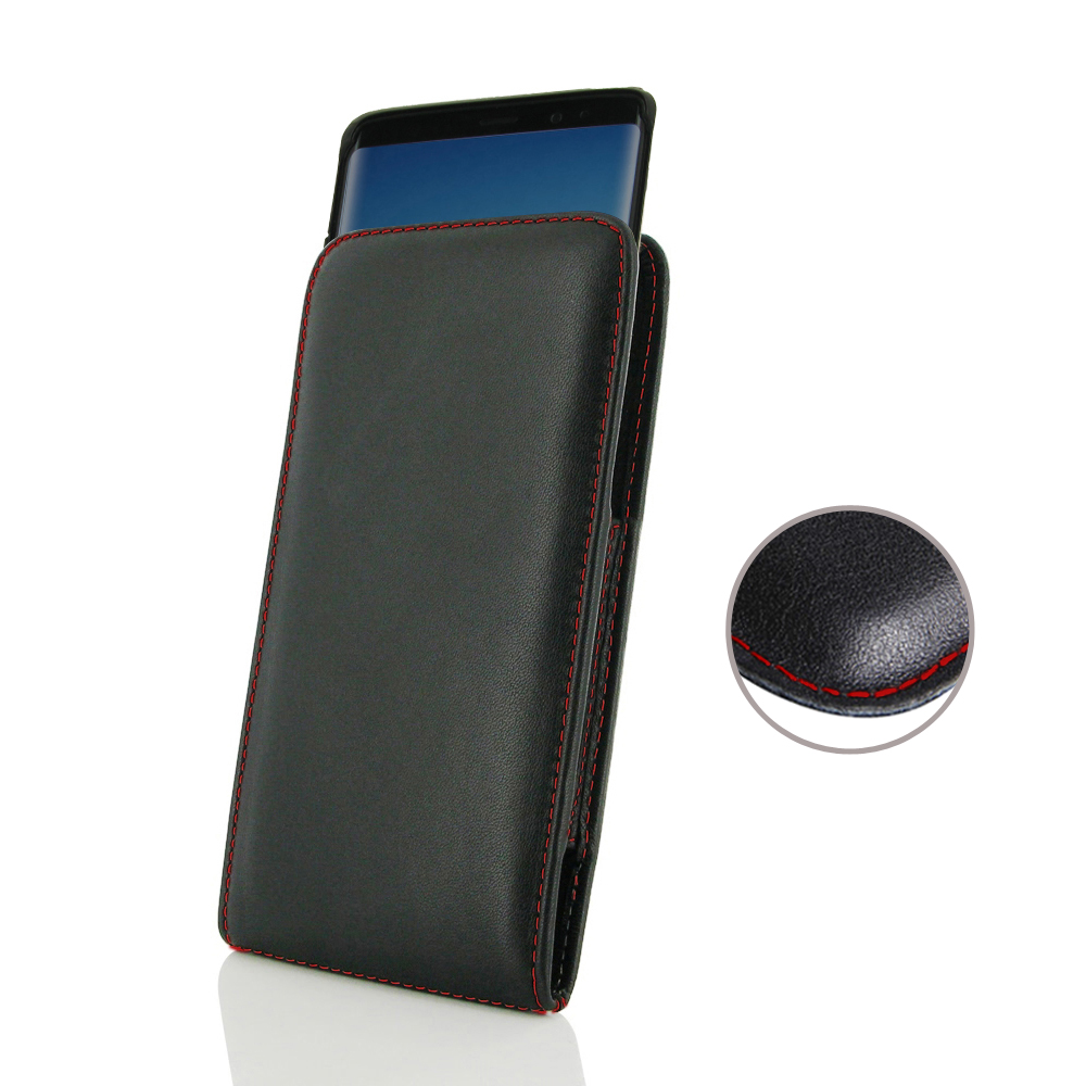 10% OFF + FREE SHIPPING, Buy the BEST PDair Handcrafted Premium Protective Carrying Samsung Galaxy Note 8 (in Slim Cover) Pouch Case (Red Stitch). Exquisitely designed engineered for Samsung Galaxy Note 8.