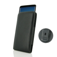 Leather Vertical Pouch Belt Clip Case for Samsung Galaxy Note8 | Samsung Galaxy Note 8 ( Compatible with 1.0 mm Slim Case / Cover on )