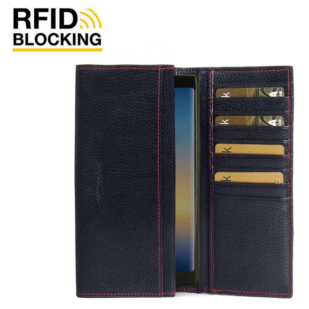 10% OFF + FREE SHIPPING, Buy Best PDair Handmade Protective Samsung Galaxy Note8 Leather Continental Sleeve Wallet (Red Stitching).  You also can go to the customizer to create your own stylish leather case if looking for additional colors, patterns and t