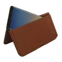 Leather Wallet Pouch for Samsung Galaxy Note8 | Samsung Galaxy Note 8 | Samsung AFRICA_EN  (Brown)