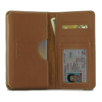 Leather Card Wallet for Samsung Galaxy Note8 | Samsung Galaxy Note 8 | Samsung AFRICA_EN  (Brown)