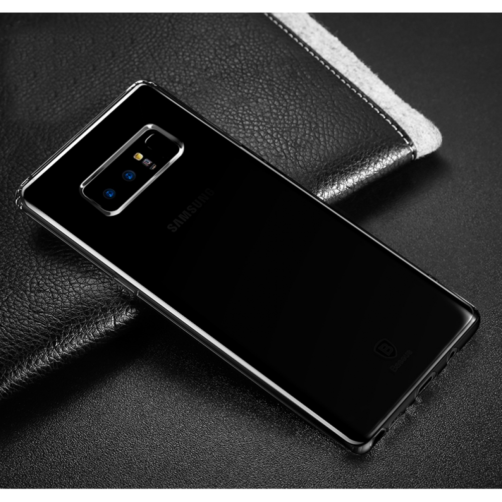 reputable site 2319c b2526 Ultra Thin Soft Clear Case Back Cover for Samsung Galaxy Note8 | Samsung  Galaxy Note 8 | Samsung AFRICA_EN (Black)