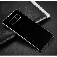 Ultra Thin Soft Clear Case Back Cover for Samsung Galaxy Note8 | Samsung Galaxy Note 8 | Samsung AFRICA_EN (Black)