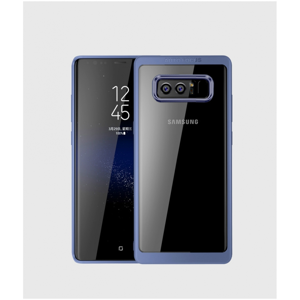 10% OFF + FREE SHIPPING, Buy Best PDair Premium Protective Samsung Galaxy Note 8 Ultra Slim Shockproof Bumper Cover with Crystal Clear Back Protective Case (Blue) You also can go to the customizer to create your own stylish leather case if looking for add