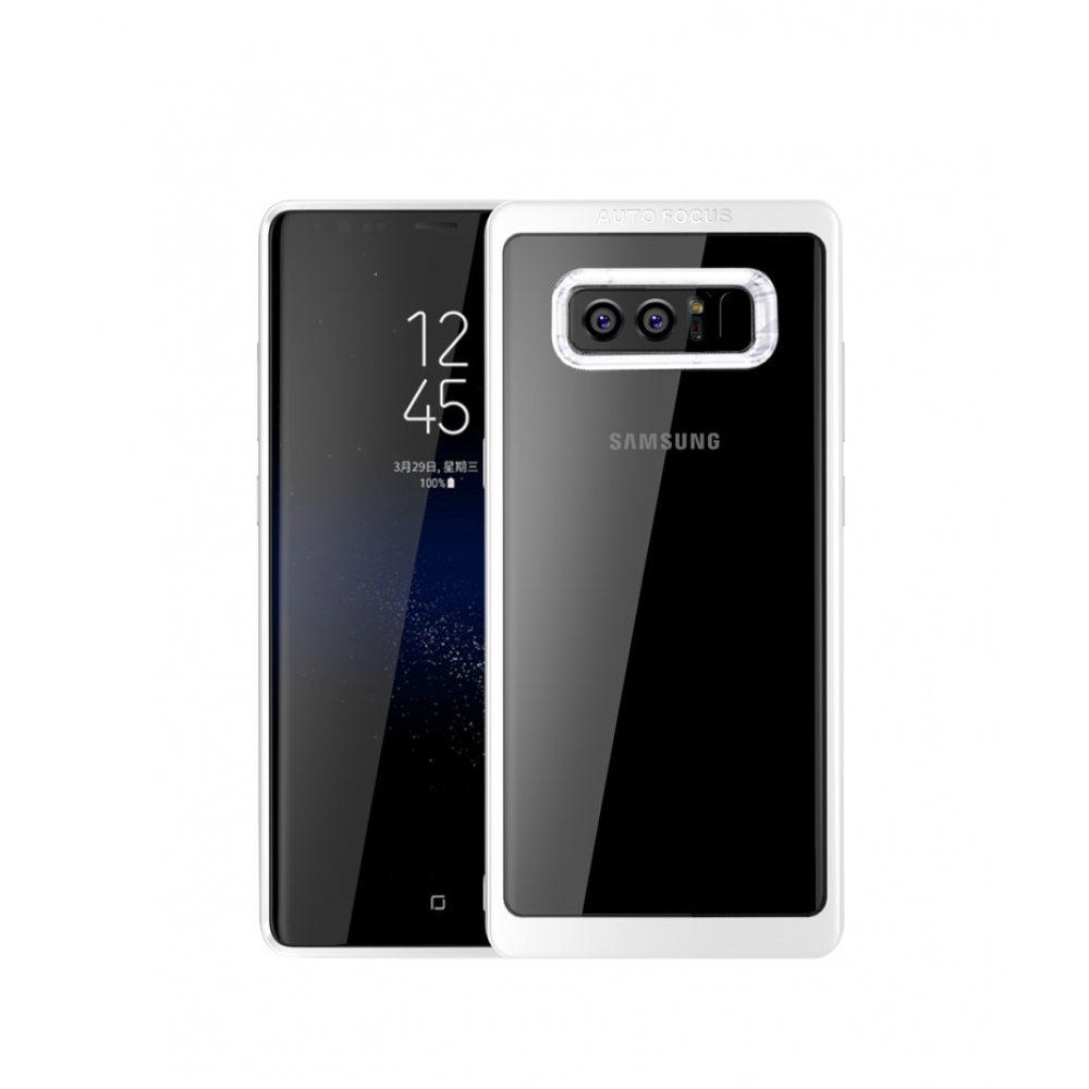 10% OFF + FREE SHIPPING, Buy Best PDair Premium Protective Samsung Galaxy Note 8 Ultra Slim Shockproof Bumper Cover with Crystal Clear Back Protective Case (White) You also can go to the customizer to create your own stylish leather case if looking for ad
