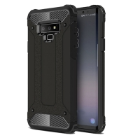 Hybrid Dual Layer Tough Armor Protective Case for Samsung Galaxy Note9 | Samsung Galaxy Note 9 (Black)