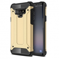 Hybrid Dual Layer Tough Armor Protective Case for Samsung Galaxy Note9 | Samsung Galaxy Note 9 (Gold)