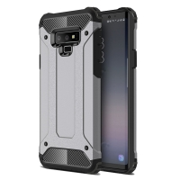 Hybrid Dual Layer Tough Armor Protective Case for Samsung Galaxy Note9 | Samsung Galaxy Note 9 (Grey)