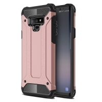 Hybrid Dual Layer Tough Armor Protective Case for Samsung Galaxy Note9 | Samsung Galaxy Note 9 (Rose Gold)