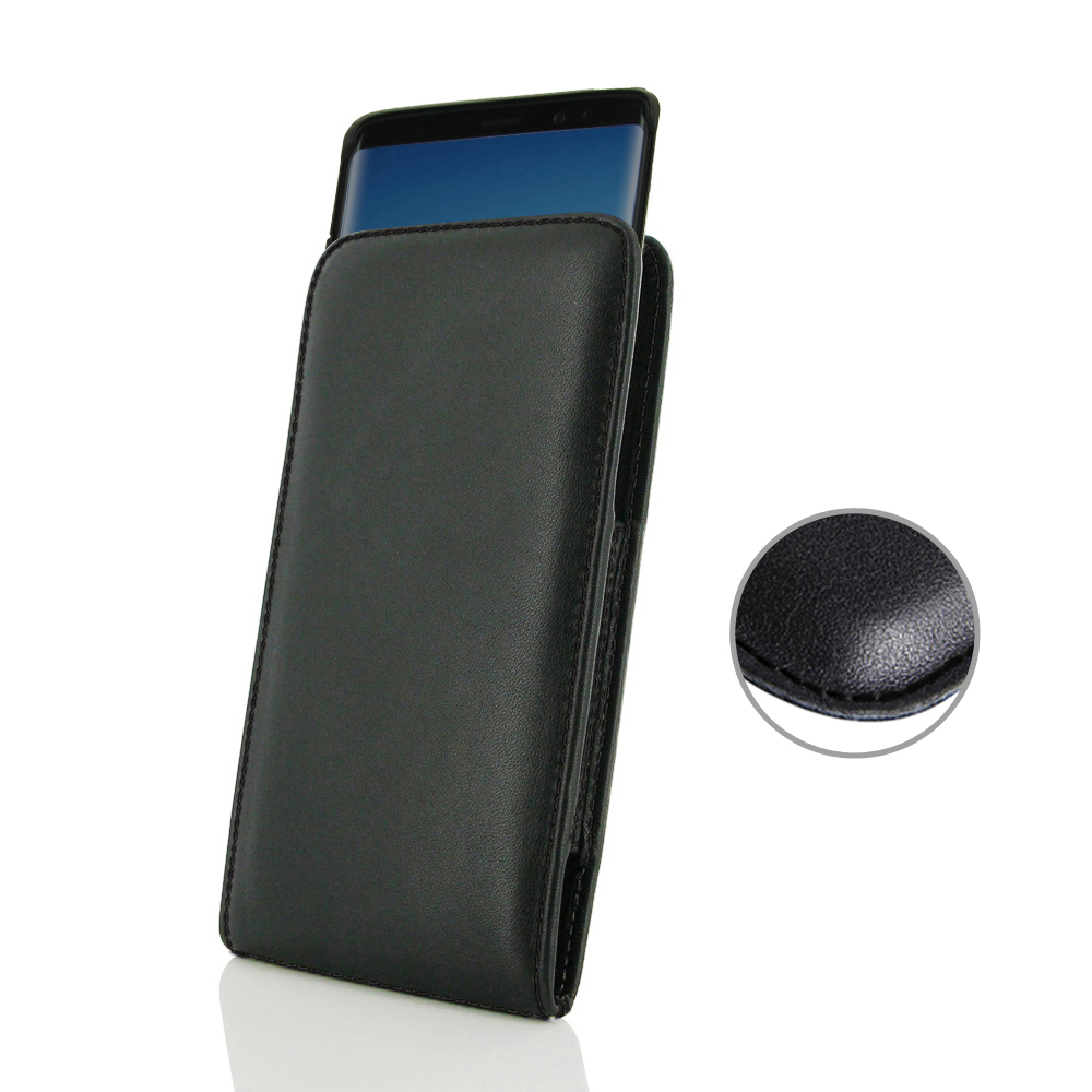 10% OFF + FREE SHIPPING, Buy the BEST PDair Handcrafted Premium Protective Carrying Samsung Galaxy Note 9 (in Slim Cover) Pouch Case (Black Stitch). Exquisitely designed engineered for Samsung Galaxy Note 9.