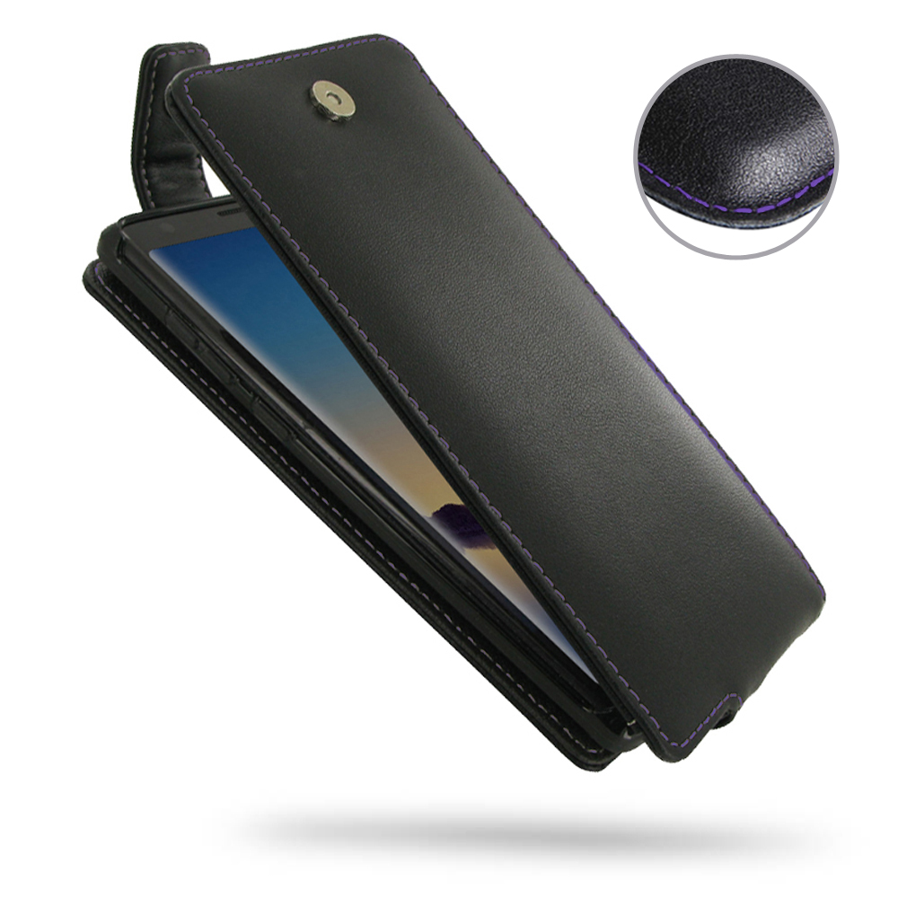 10% OFF + FREE SHIPPING, Buy the BEST PDair Handcrafted Premium Protective Carrying Samsung Galaxy Note 9 Leather Flip Top Wallet Case (Purple Stitch). Exquisitely designed engineered for Samsung Galaxy Note 9.
