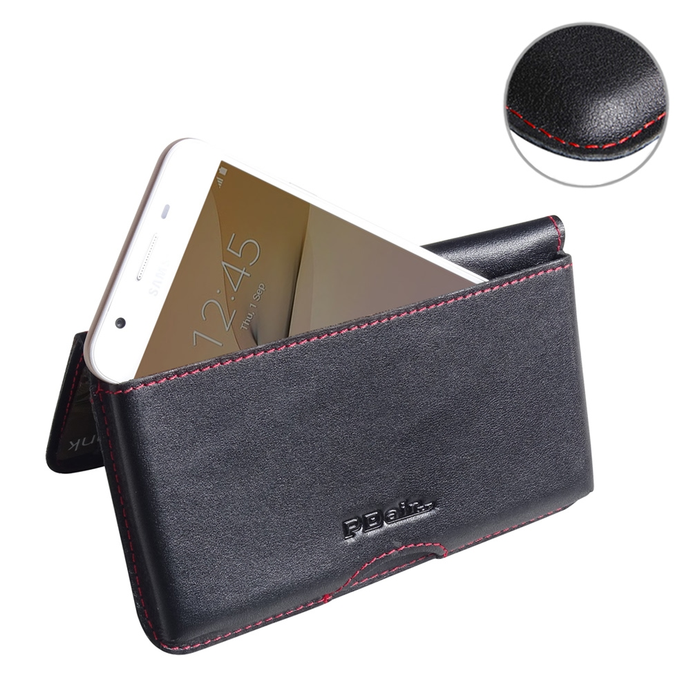 10% OFF + FREE SHIPPING, Buy Best PDair Handmade Protective Samsung Galaxy On5 2016 Genuine Leather Wallet Pouch Case (Red Stitch) online. You also can go to the customizer to create your own stylish leather case if looking for additional colors, patterns