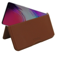 10% OFF + FREE SHIPPING, Buy the BEST PDair Handcrafted Premium Protective Carrying Samsung Galaxy S10 5G Leather Wallet Pouch Case (Brown). Exquisitely designed engineered for Samsung Galaxy S10 5G.