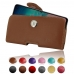 Samsung Galaxy S10 Pouch Case with Belt Clip handmade leather case by PDair