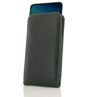 Leather Vertical Pouch Case for Samsung Galaxy S10