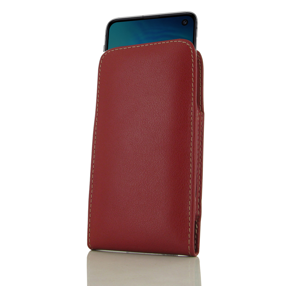 10% OFF + FREE SHIPPING, Buy the BEST PDair Handcrafted Premium Protective Carrying Samsung Galaxy S10 Leather Sleeve Pouch Case (Red). Exquisitely designed engineered for Samsung Galaxy S10.
