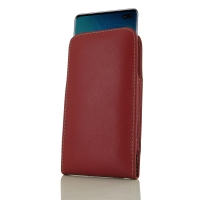 10% OFF + FREE SHIPPING, Buy the BEST PDair Handcrafted Premium Protective Carrying Samsung Galaxy S10 Plus | S10+ Leather Sleeve Pouch Case (Red). Exquisitely designed engineered for Samsung Galaxy S10 Plus | S10+.
