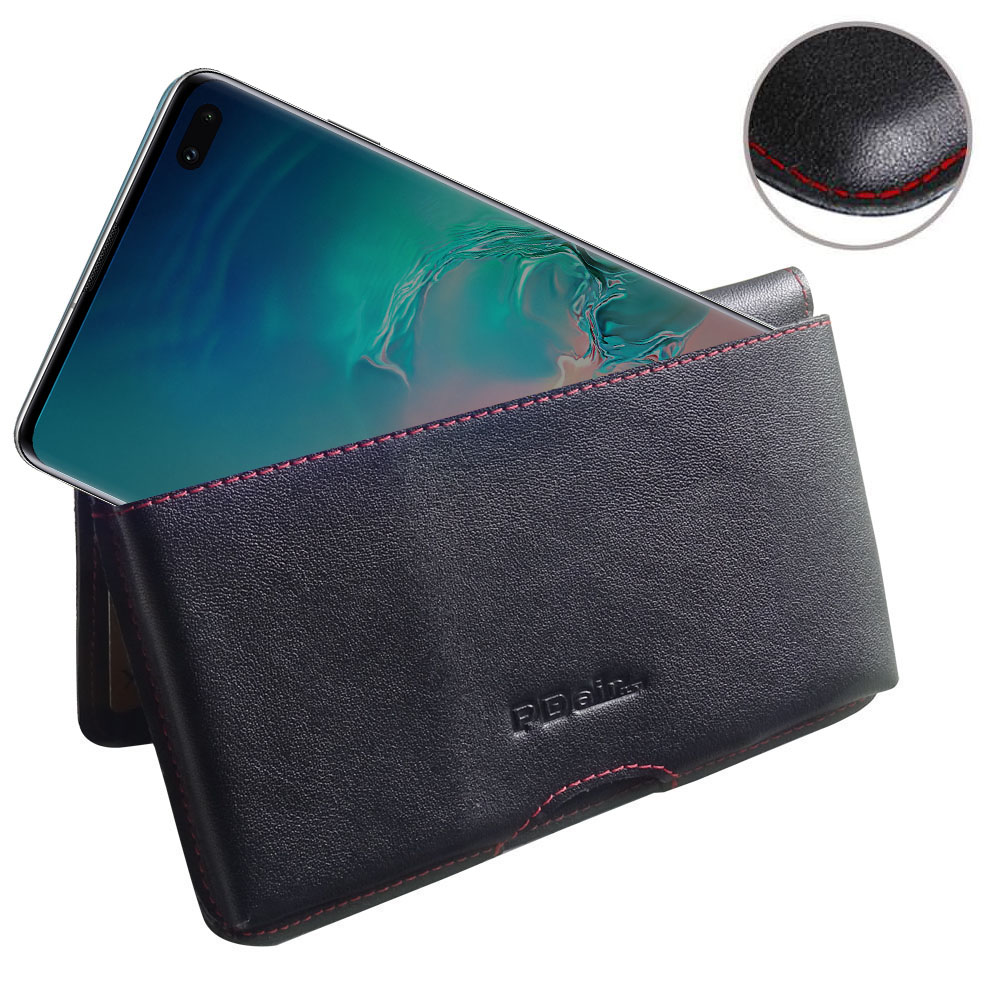 10% OFF + FREE SHIPPING, Buy the BEST PDair Handcrafted Premium Protective Carrying Samsung Galaxy S10 Plus | S10+ Leather Wallet Pouch Case (Red Stitch). Exquisitely designed engineered for Samsung Galaxy S10 Plus | S10+.