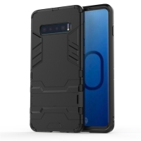 Samsung Galaxy S10 Plus Tough Armor Protective Case (Black)