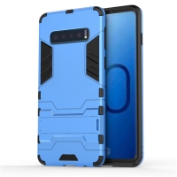 Samsung Galaxy S10 Plus Tough Armor Protective Case (Blue)