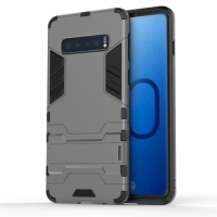 Samsung Galaxy S10 Plus Tough Armor Protective Case (Grey)
