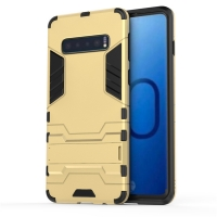 Samsung Galaxy S10e Tough Armor Protective Case (Gold)