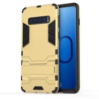 Samsung Galaxy S10e Tough Armor Protective Case (Gold)