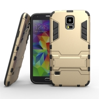 Samsung Galaxy S5 SM-G900 Tough Armor Protective Case (Gold)