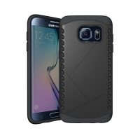 10% OFF + FREE Shipping, Buy Best PDair Premium Protective Samsung Galaxy S6 edge Hybrid Combo Aegis Armor Case Cover (Black) online. You also can go to the customizer to create your own stylish leather case if looking for additional colors, patterns and