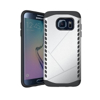 10% OFF + FREE Shipping, Buy Best PDair Premium Protective Samsung Galaxy S6 edge Hybrid Combo Aegis Armor Case Cover (Silver) online. You also can go to the customizer to create your own stylish leather case if looking for additional colors, patterns and
