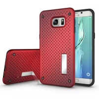 10% OFF + FREE SHIPPING, Buy Best PDair Premium Protective Samsung Galaxy S6 edge+ Plus Hybrid Shockproof Bumper with Stand (Red) online. You also can go to the customizer to create your own stylish leather case if looking for additional colors, patterns