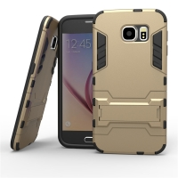 Samsung Galaxy S6 Tough Armor Protective Case (Gold)