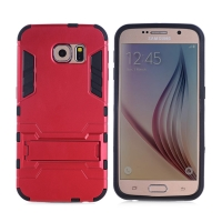 Samsung Galaxy S6 Tough Armor Protective Case (Red)