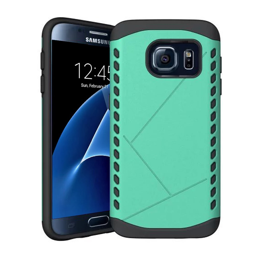 10% OFF + FREE Shipping, Buy Best PDair Premium Protective Samsung Galaxy S7 edge Hybrid Combo Aegis Armor Case Cover (Green) online. You also can go to the customizer to create your own stylish leather case if looking for additional colors, patterns and