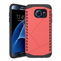 Hybrid Combo Aegis Armor Case Cover for Samsung Galaxy S7 edge (Pink) :: PDair