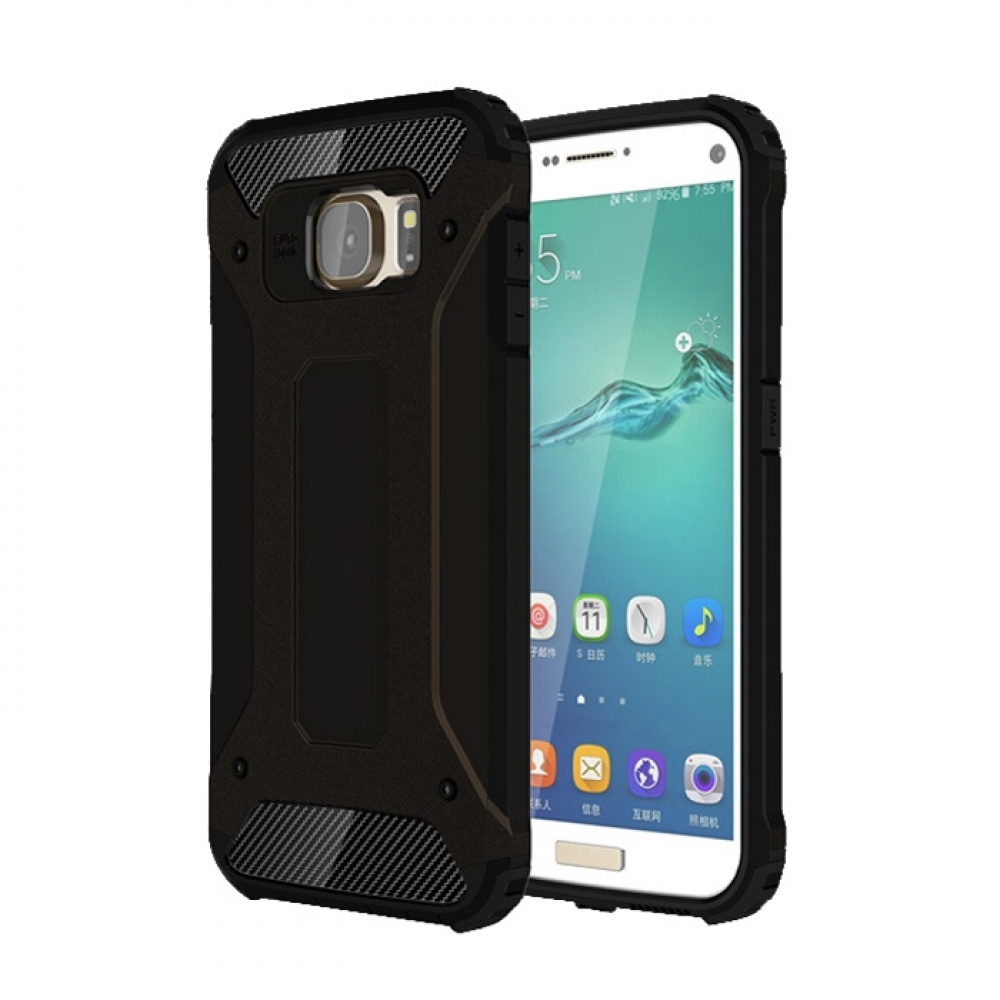 10% OFF + FREE SHIPPING, Buy Best PDair Top Quality Samsung Galaxy S7 edge Hybrid Dual Layer Tough Armor Protective Case (Black) online. You also can go to the customizer to create your own stylish leather case if looking for additional colors, patterns a