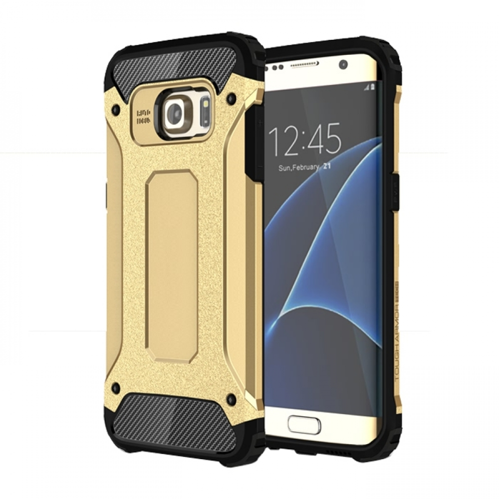 10% OFF + FREE SHIPPING, Buy Best PDair Top Quality Samsung Galaxy S7 edge Hybrid Dual Layer Tough Armor Protective Case (Gold) online. You also can go to the customizer to create your own stylish leather case if looking for additional colors, patterns an