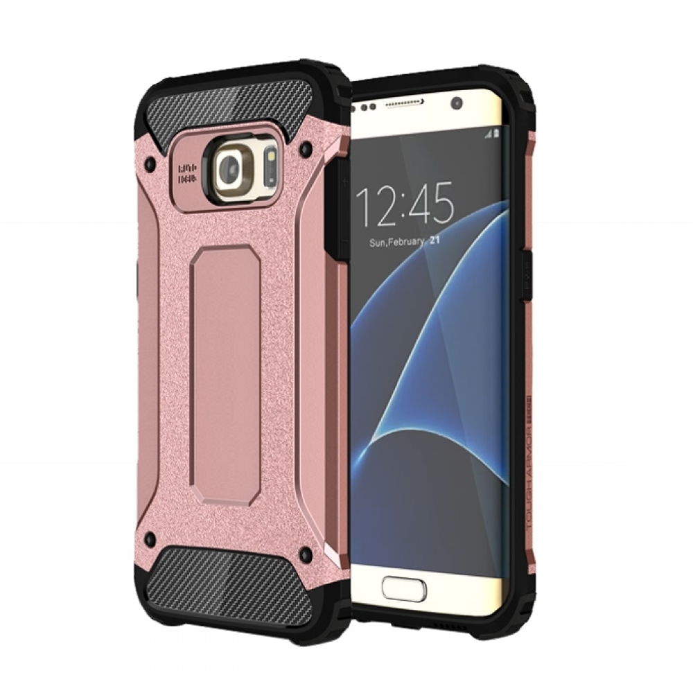 10% OFF + FREE SHIPPING, Buy Best PDair Top Quality Samsung Galaxy S7 edge Hybrid Dual Layer Tough Armor Protective Case (Rose Gold) online. You also can go to the customizer to create your own stylish leather case if looking for additional colors, patter