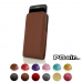 10% OFF + FREE SHIPPING, Buy PDair Handmade Protective Samsung Galaxy S7 edge Genuine Leather Sleeve Pouch Case (Brown Pebble Genuine Leather) online You also can go to the customizer to create your own stylish leather case if looking for additional color