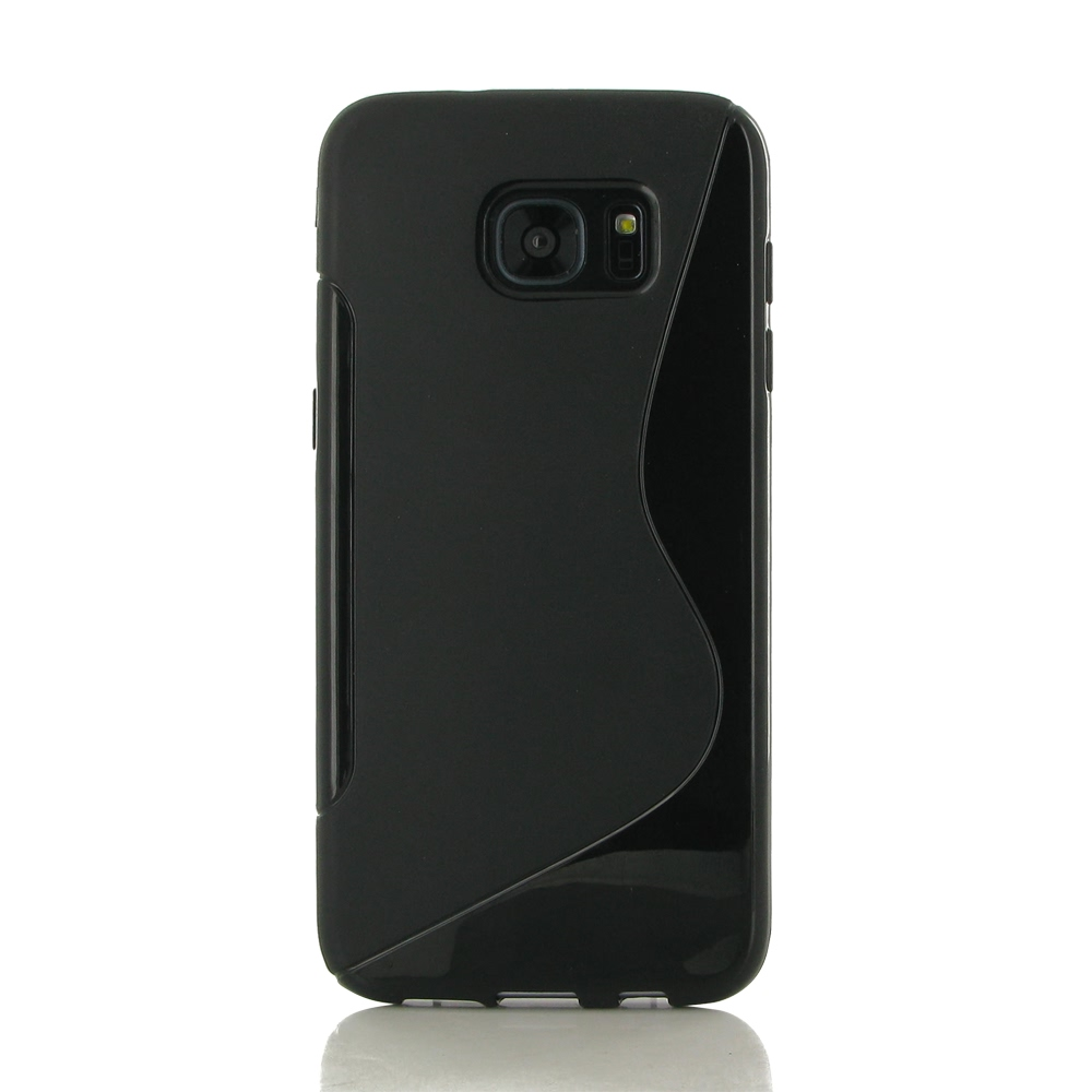 10% OFF + FREE SHIPPING, Buy Best PDair Protective Samsung Galaxy S7 edge Soft Case (Black S Shape pattern). You also can go to the customizer to create your own stylish leather case if looking for additional colors, patterns and types.