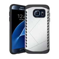 10% OFF + FREE Shipping, Buy Best PDair Premium Protective Samsung Galaxy S7 Hybrid Combo Aegis Armor Case Cover (Silver) online. You also can go to the customizer to create your own stylish leather case if looking for additional colors, patterns and type